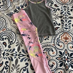 Toddler Athletic Outfit